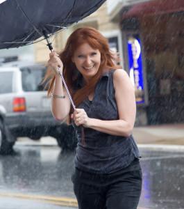 Jo Ann in Rain