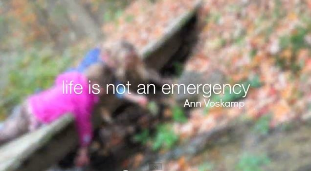 life is not an emergency2