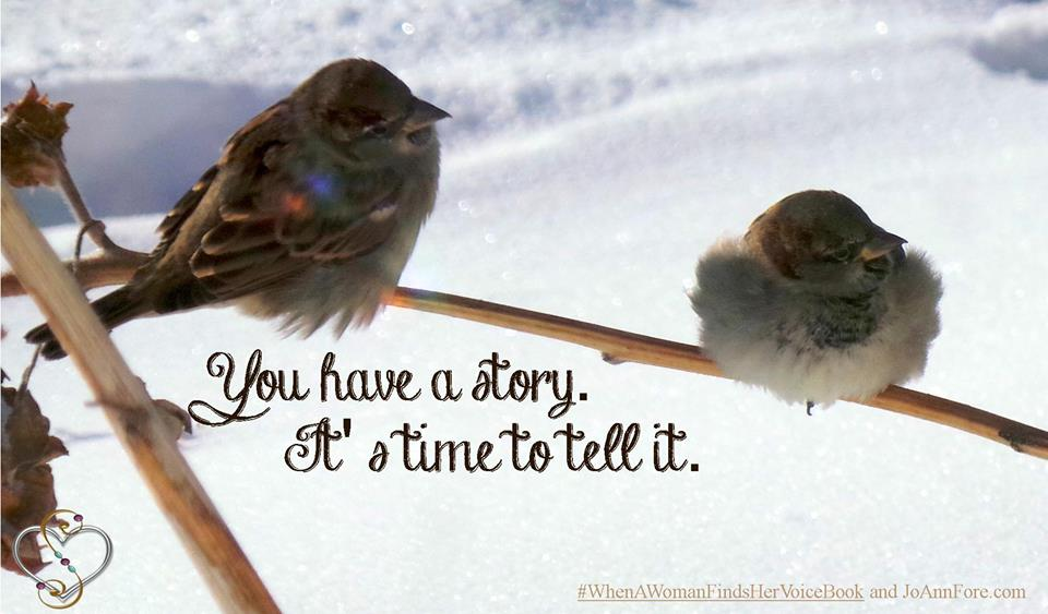 You have a story