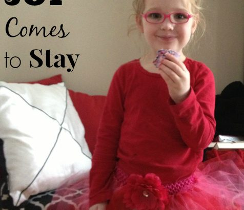 Joy Comes to Stay