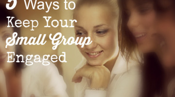 Keep Small Groups Engaged, Jo Ann Fore