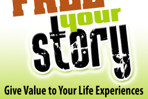 Free Your Story blog button