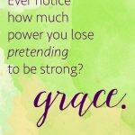 PretendingGrace
